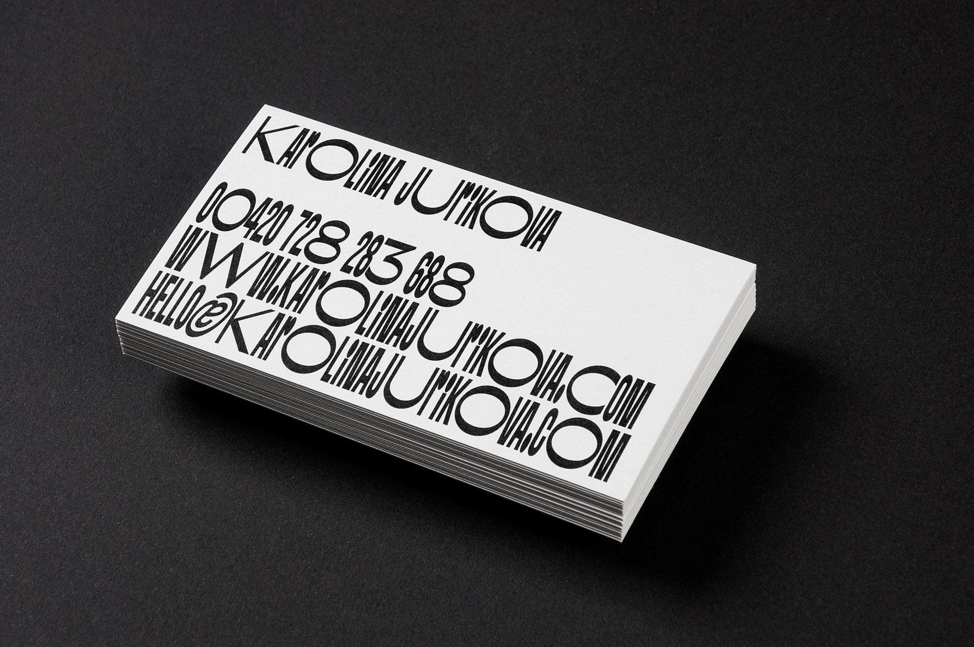 Ondřej Báchor Graphic & Type Design  Projects